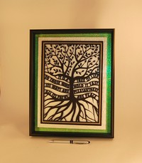 Tree of Life (shadowbox display)