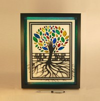 Tree of Life 2 (shadowbox display)